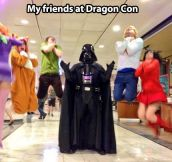 Vadering at Dragon Con…
