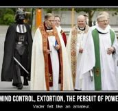 Holy Vader…
