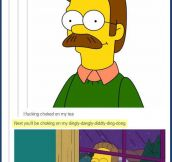 Inappropriate Flanders…