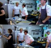 Oh Gordon, you so silly…