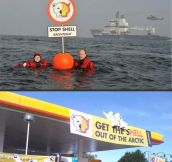 Greenpeace vs. Shell…