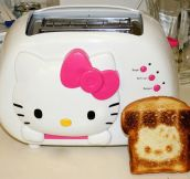 Hello Kitty toaster…
