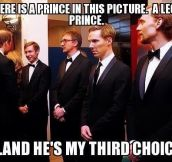 There is a Prince in this picture…