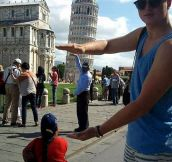 My favorite Leaning Tower picture…