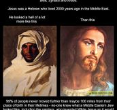 What Jesus really looked like…