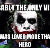 A very well-done villain…