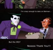 Even The Joker has his limits…