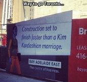 Fast construction…