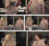Lady Gaga and her fashion choices…