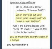 Les Misera-latte…