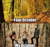 My October plans…