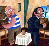 Picasso vs. Dali…