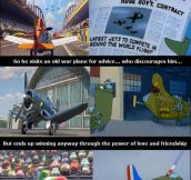 Disney, always so original…