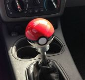 Gear shift for the forever alone…