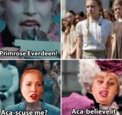 Hunger Games vs. Pitch Perfect…