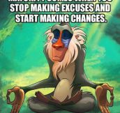Rafiki nails it…