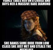 Scumbag Miss Dawson…