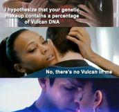 Vulcan pick-up line…