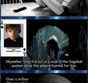 The Star Wars conspiracy…