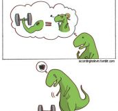 T-Rex needs love too…