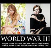 The next war…
