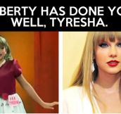 Look what puberty has done to her…