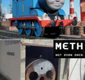 Not even once, Thomas…