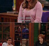Weird middle name…