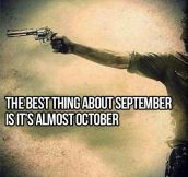 The best thing about September…