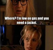 Wayne's World was such a smart movie…