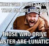 Road rage in a nutshell…