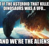 The truth about the asteroid…