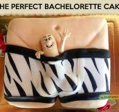 Bachelorette cake…
