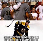 Basketball vs. Hockey…