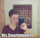 Big smartphone…