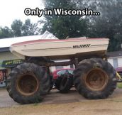 Things you only see in Wisconsin…
