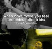 When boys make you feel breathless…