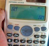 Getting really tired of your calculations…