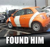 This time I found him…