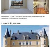 Castles that cost less than an apartment in NYC…