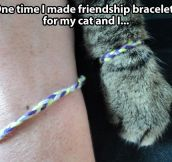 Friendship bracelets…