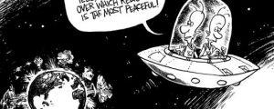 How aliens see us…