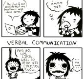 Written vs. Verbal…