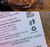 Bought some Mexican cookies when suddenly…