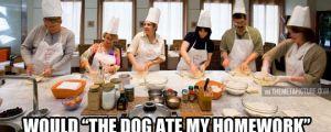Cooking class dilemma…