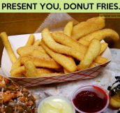 The majestic donut fries…