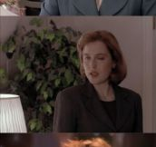 Dana Scully's seductive eyes…