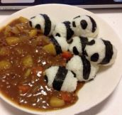 Panda Curry Bum-Rush…