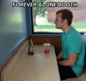 Loneliness booth…