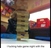 Game night with engineers…